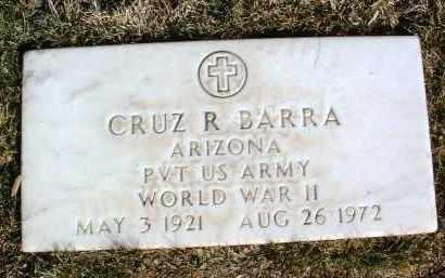 BARRA, CRUZ RAYMOND - Yavapai County, Arizona   CRUZ RAYMOND BARRA - Arizona Gravestone Photos