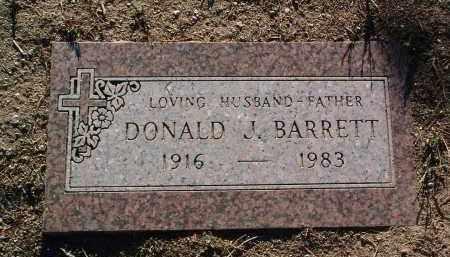 BARRETT, DONALD JOSEPH - Yavapai County, Arizona   DONALD JOSEPH BARRETT - Arizona Gravestone Photos