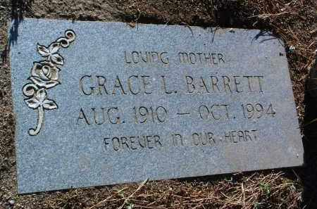 BARRETT, GRACE L. - Yavapai County, Arizona | GRACE L. BARRETT - Arizona Gravestone Photos