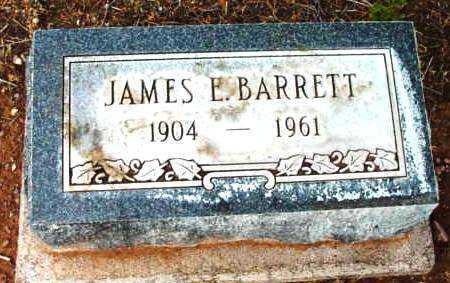 BARRETT, JAMES EDWARD - Yavapai County, Arizona | JAMES EDWARD BARRETT - Arizona Gravestone Photos