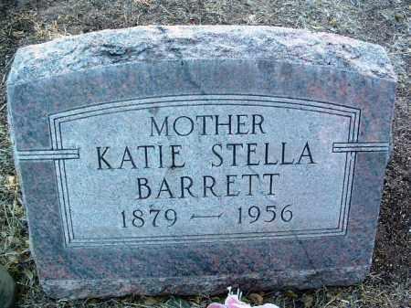 BARRETT, KATHERINE STELLA (KATIE) - Yavapai County, Arizona | KATHERINE STELLA (KATIE) BARRETT - Arizona Gravestone Photos