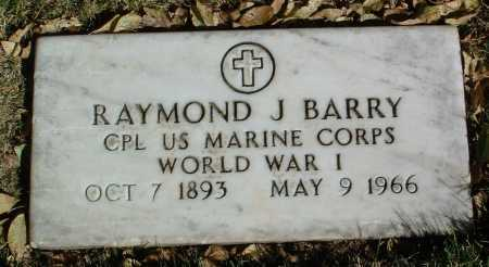 BARRY, RAYMOND J. - Yavapai County, Arizona | RAYMOND J. BARRY - Arizona Gravestone Photos