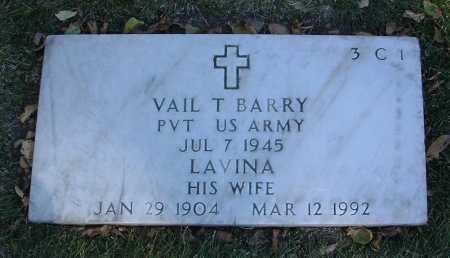 BARRY, VAIL T. - Yavapai County, Arizona   VAIL T. BARRY - Arizona Gravestone Photos