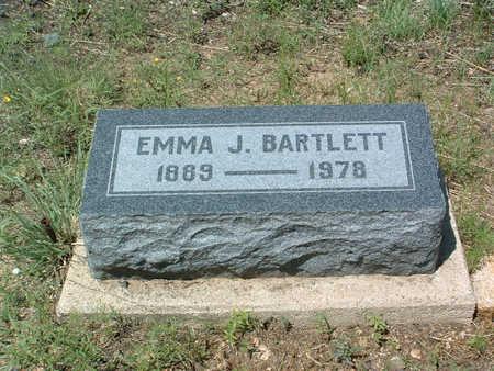 BARTLETT, EMMA J. - Yavapai County, Arizona   EMMA J. BARTLETT - Arizona Gravestone Photos