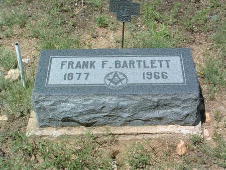 BARTLETT, FRANK FREMONT - Yavapai County, Arizona | FRANK FREMONT BARTLETT - Arizona Gravestone Photos