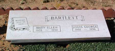 BARTLETT, LOUIS GEORGE - Yavapai County, Arizona | LOUIS GEORGE BARTLETT - Arizona Gravestone Photos