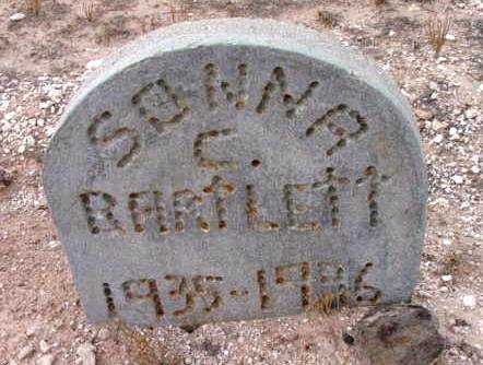 BARTLETT, SONNA C. - Yavapai County, Arizona | SONNA C. BARTLETT - Arizona Gravestone Photos