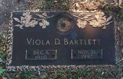 BARTLETT, VIOLA D. - Yavapai County, Arizona | VIOLA D. BARTLETT - Arizona Gravestone Photos