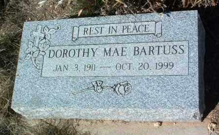 BARTUSS, DOROTHY MAE - Yavapai County, Arizona | DOROTHY MAE BARTUSS - Arizona Gravestone Photos