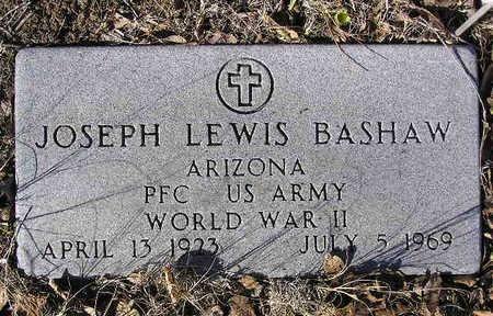 BASHAW, JOSEPH LEWIS - Yavapai County, Arizona | JOSEPH LEWIS BASHAW - Arizona Gravestone Photos
