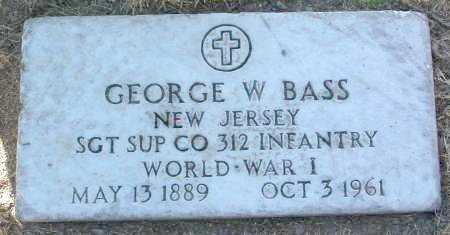 BASS, GEORGE W. - Yavapai County, Arizona | GEORGE W. BASS - Arizona Gravestone Photos