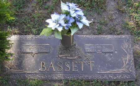 BASSETT, LENA V. - Yavapai County, Arizona | LENA V. BASSETT - Arizona Gravestone Photos