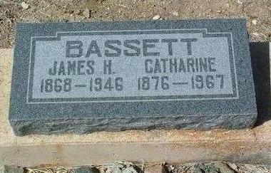BASSETT, JAMES H. - Yavapai County, Arizona | JAMES H. BASSETT - Arizona Gravestone Photos