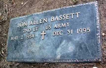 BASSETT, JON ALLEN - Yavapai County, Arizona   JON ALLEN BASSETT - Arizona Gravestone Photos