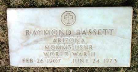 BASSETT, RAYMOND - Yavapai County, Arizona | RAYMOND BASSETT - Arizona Gravestone Photos