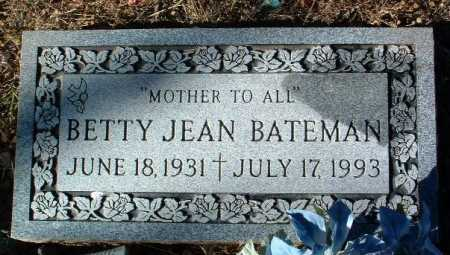 BATEMAN, BETTY JEAN - Yavapai County, Arizona | BETTY JEAN BATEMAN - Arizona Gravestone Photos