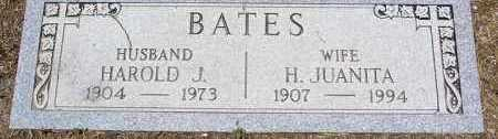BATES, HARRIET JUANITA - Yavapai County, Arizona | HARRIET JUANITA BATES - Arizona Gravestone Photos