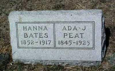 HINES BATES, HANNA M. - Yavapai County, Arizona   HANNA M. HINES BATES - Arizona Gravestone Photos