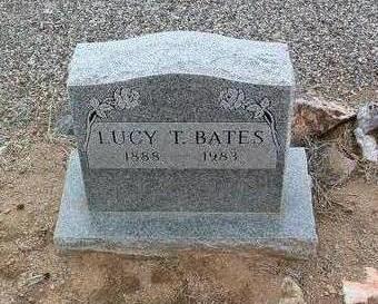 BATES, LUCY - Yavapai County, Arizona | LUCY BATES - Arizona Gravestone Photos