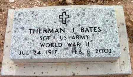 BATES, THERMAN J. - Yavapai County, Arizona | THERMAN J. BATES - Arizona Gravestone Photos