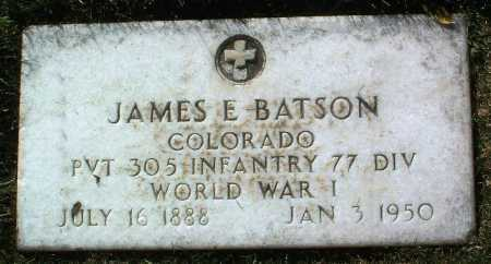 BATSON, JAMES E. - Yavapai County, Arizona | JAMES E. BATSON - Arizona Gravestone Photos