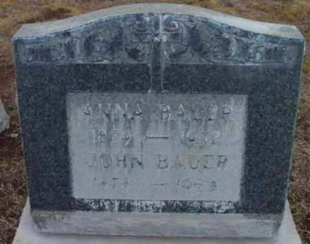 BAUER, JOHN - Yavapai County, Arizona | JOHN BAUER - Arizona Gravestone Photos