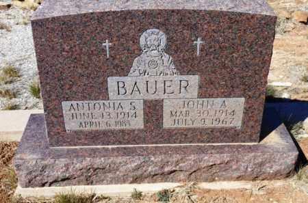 BAUER, ANTONIA S. - Yavapai County, Arizona | ANTONIA S. BAUER - Arizona Gravestone Photos
