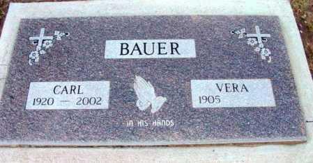 BAUER, ERMEST CARL - Yavapai County, Arizona | ERMEST CARL BAUER - Arizona Gravestone Photos