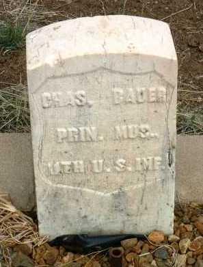 BAUER, CHARLES - Yavapai County, Arizona   CHARLES BAUER - Arizona Gravestone Photos