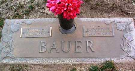 HEATHMAN BAUER, DOROTHY ELIZABETH - Yavapai County, Arizona | DOROTHY ELIZABETH HEATHMAN BAUER - Arizona Gravestone Photos