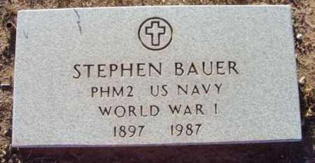 BAUER, STEPHEN - Yavapai County, Arizona | STEPHEN BAUER - Arizona Gravestone Photos