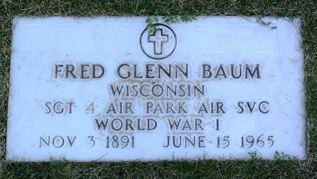 BAUM, FRED GLENN - Yavapai County, Arizona   FRED GLENN BAUM - Arizona Gravestone Photos