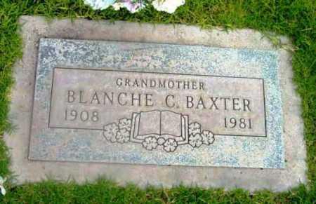 BAXTER, BLANCHE C. - Yavapai County, Arizona   BLANCHE C. BAXTER - Arizona Gravestone Photos