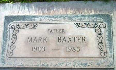 BAXTER, MARK CLEMENT - Yavapai County, Arizona   MARK CLEMENT BAXTER - Arizona Gravestone Photos