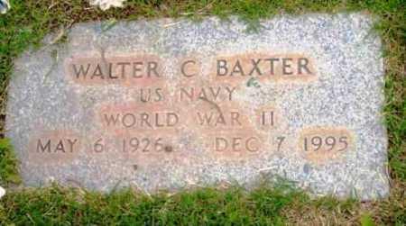 BAXTER, WALTER C. - Yavapai County, Arizona | WALTER C. BAXTER - Arizona Gravestone Photos
