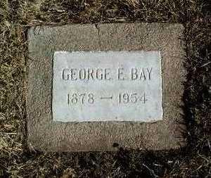 BAY, GEORGE E. - Yavapai County, Arizona   GEORGE E. BAY - Arizona Gravestone Photos