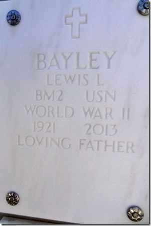 BAYLEY, LEWIS L. - Yavapai County, Arizona | LEWIS L. BAYLEY - Arizona Gravestone Photos