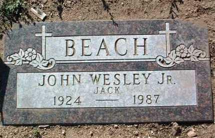 BEACH, JOHN WESLEY, JR. - Yavapai County, Arizona | JOHN WESLEY, JR. BEACH - Arizona Gravestone Photos