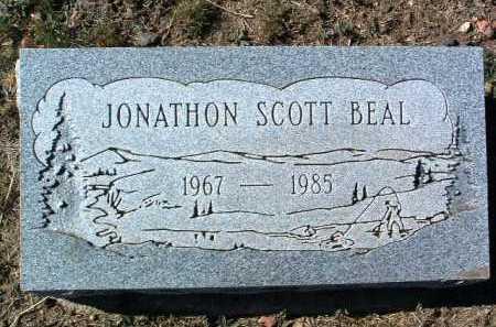 BEAL, JONATHAN SCOTT - Yavapai County, Arizona | JONATHAN SCOTT BEAL - Arizona Gravestone Photos