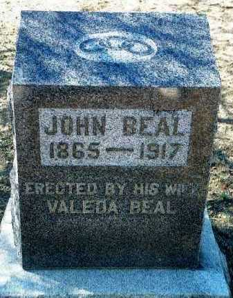 BEAL, JOHN - Yavapai County, Arizona   JOHN BEAL - Arizona Gravestone Photos