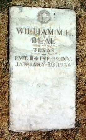 BEAL, WILLIAM MARTIN HOMER - Yavapai County, Arizona | WILLIAM MARTIN HOMER BEAL - Arizona Gravestone Photos