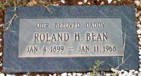 BEAN, ROLAND HOWARD - Yavapai County, Arizona   ROLAND HOWARD BEAN - Arizona Gravestone Photos