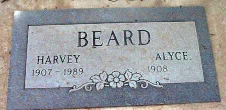 BEARD, ALYCE - Yavapai County, Arizona   ALYCE BEARD - Arizona Gravestone Photos