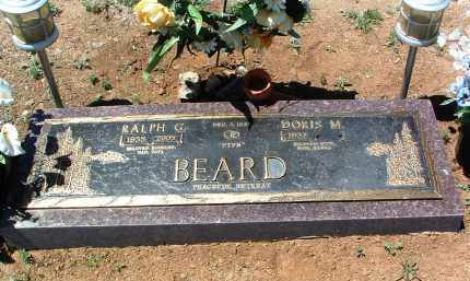 BEARD, RALPH GORDON - Yavapai County, Arizona | RALPH GORDON BEARD - Arizona Gravestone Photos