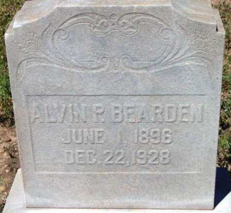 BEARDEN, ALVIN P. - Yavapai County, Arizona | ALVIN P. BEARDEN - Arizona Gravestone Photos