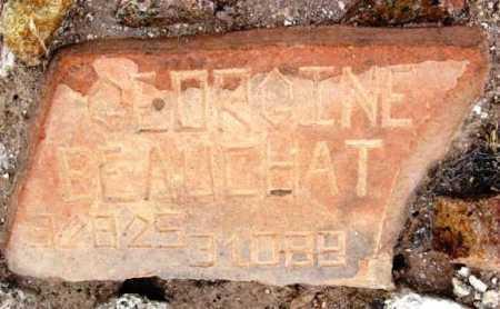 BEAUCHAT, BERNICE G - Yavapai County, Arizona   BERNICE G BEAUCHAT - Arizona Gravestone Photos