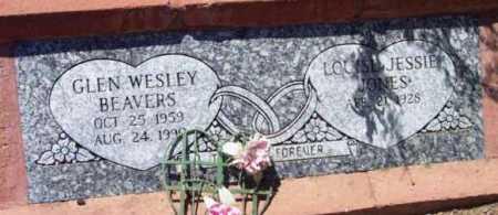 JONES BEAVERS, LOUISE JESSIE - Yavapai County, Arizona | LOUISE JESSIE JONES BEAVERS - Arizona Gravestone Photos