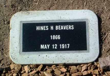 BEAVERS, HINES H. - Yavapai County, Arizona   HINES H. BEAVERS - Arizona Gravestone Photos