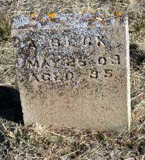 BECK, AL - Yavapai County, Arizona   AL BECK - Arizona Gravestone Photos