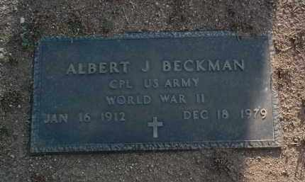 BECKMAN, ALBERT JOHN - Yavapai County, Arizona | ALBERT JOHN BECKMAN - Arizona Gravestone Photos